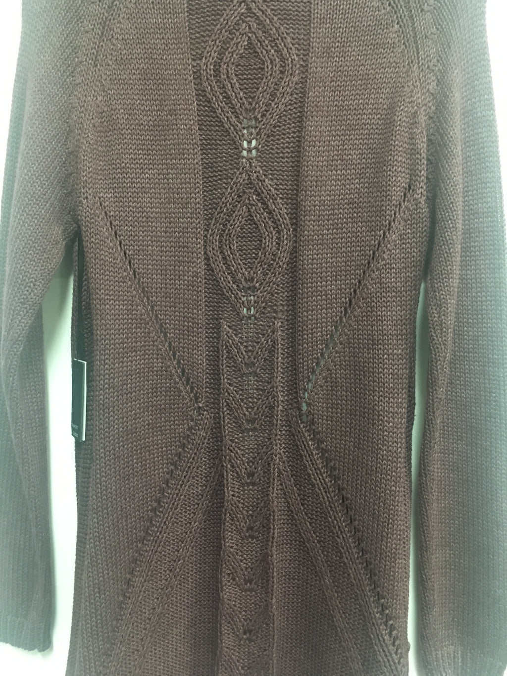 Cardigan w/back Cable Knit - She's Got Leggz