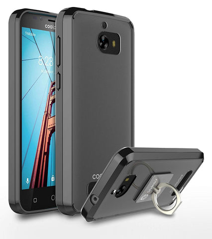 CoolPad Defiant Scratch Resistant Ultra Slim Clear TPU Bumper Case by Style4U