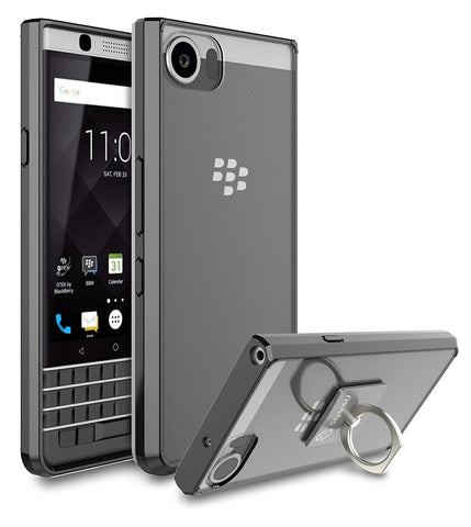 BlackBerry KEYone Scratch Resistant Shock Absorbent Ultra Slim Clear TPU Bumper Case