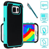 Galaxy S6 Dual Layer Hybrid Armor Protective Case by Style4U
