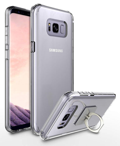 Galaxy S8 Slim Fit Scratch Resistant Transparent Clear TPU Protective Case