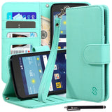 LG K7/ LG Tribute 5  Premium PU Leather Stand Wallet Case by Style4U
