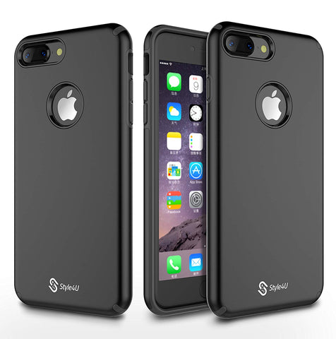 iPhone 8 Plus / iPhone 7 Plus Ultra Slim Matte Painted Non-slip Premium Armor Cover