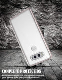 LG V20 Scratch Resistant Ultra Slim Transparent Clear TPU Bumper Case