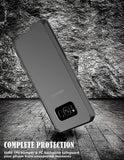 Galaxy S8 Scratch ResistantUltra Slim  Crystal Clear  TPU Bumper Protective Case