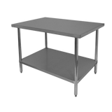 GSW Stainless Steel Work Tables 16 and 18 Gauge, Work Tables by GSW available at rosintechproducts.com