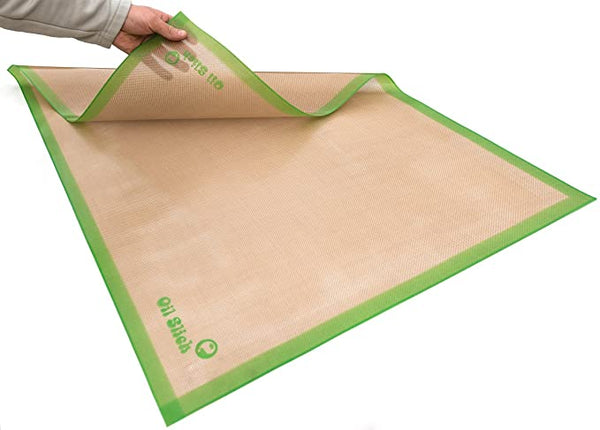 Oil Slick Slab 2' x 3' Non-Stick Platinum-Cured Silicone Dab Mat