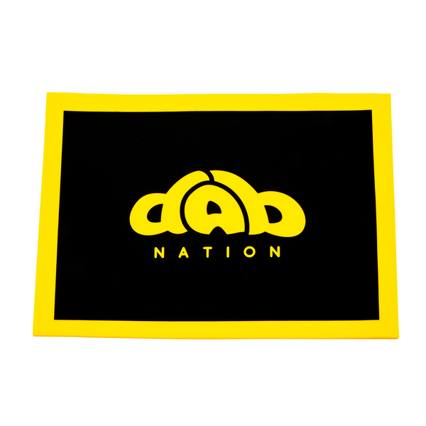 "DAB NATION 8"" X 11"" RECTANGULAR SILICONE DAB MAT"