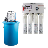 OptiPure BWS350 Reverse Osmosis System with Storage Tank, Water Filtration by Rosin Tech Products available at rosintechproducts.com