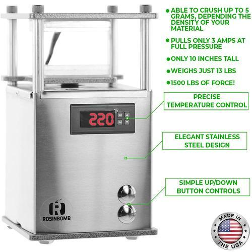 Rosinbomb Rocket Rosin Press