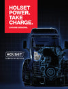 Holset Power. Take Charge. Choose Genuine.