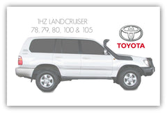 1HZ TOYOTA LANDCRUISER AFTERMARKET TURBO KIT