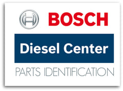 Bosch Diesel Centre Parts Identification