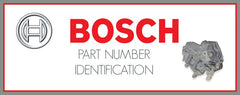 BOSCH PARTS IDENTIFICATION