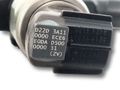 injector code for common rail injectors
