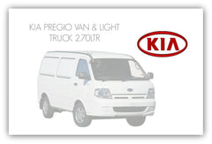 KIA PREGIO VAN AND LIGHT TRUCK TURBO KIT