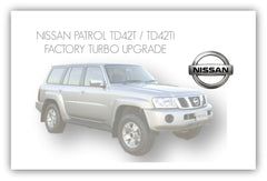 NISSAN PATROL GU FACTORY TURBO UPGRADE