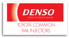 denso toyota common rail injectors