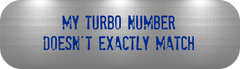 MATCHING YOUR TURBO PART NUMBER
