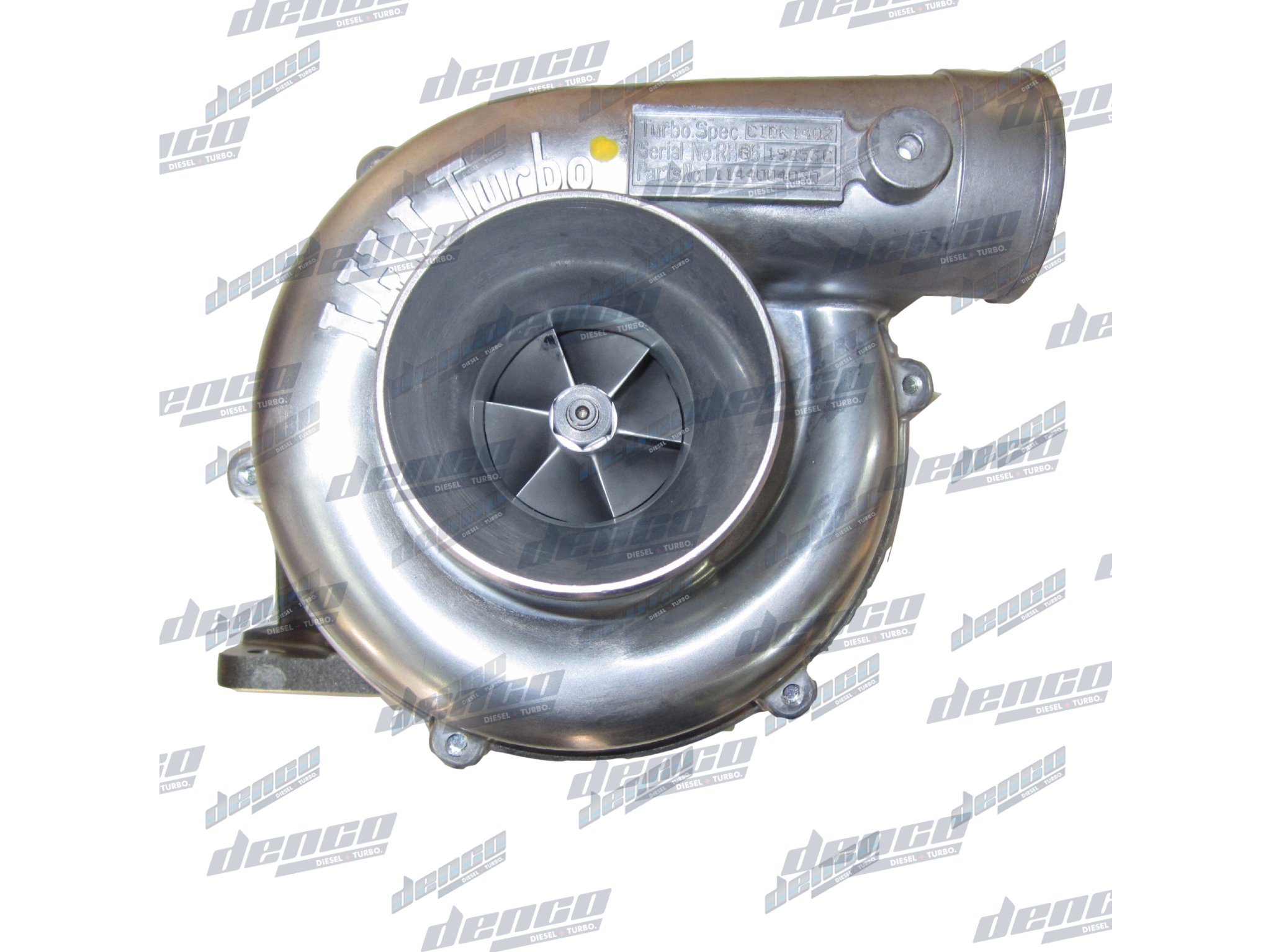 1144004030 GENUINE TURBOCHARGER RHE6 ISUZU 6BG1 CONSTRUCTION | Denco