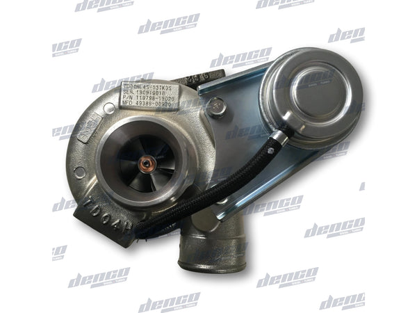119798-18020 TURBOCHARGER TD04HL 4S YANMAR 87L V370Z MARINE ENGINE