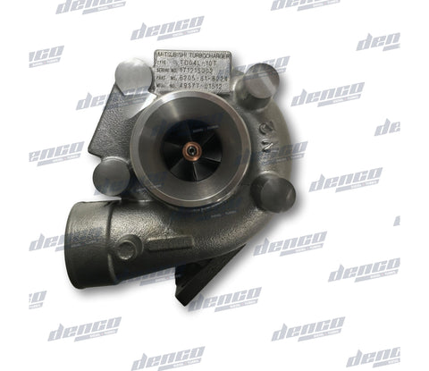 6205-81-8224 TURBOCHARGER TD04L KOMATSU CONSTRUCTION S4D95L (NEW EXCHANGE)