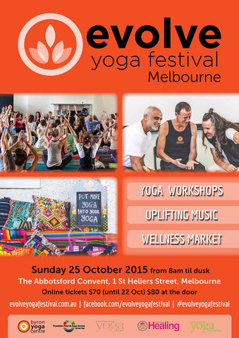 Evolve Yoga Festival - 25th October