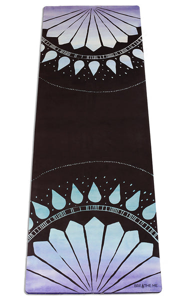 Indiana - Black - Printed Yoga Mat