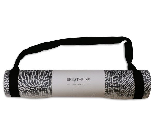 Night Sky - Grey - Printed Yoga Mat