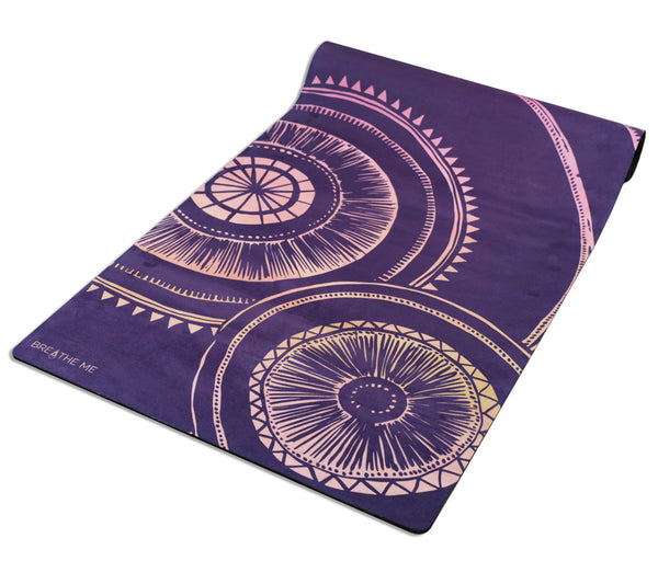 Luna - Purple - Printed Yoga Mat