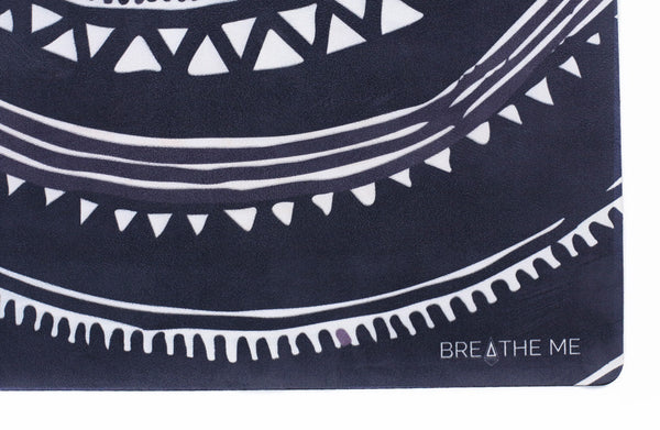 Oceana - Grey - Printed Yoga Mat