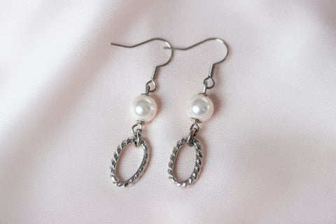 Heather Earrings- Silver