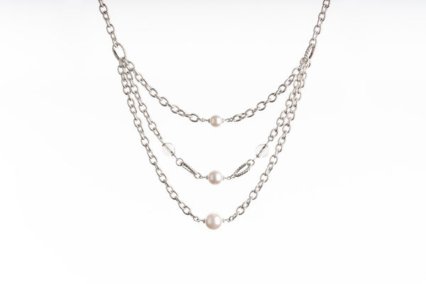 Heather Necklace- Silver