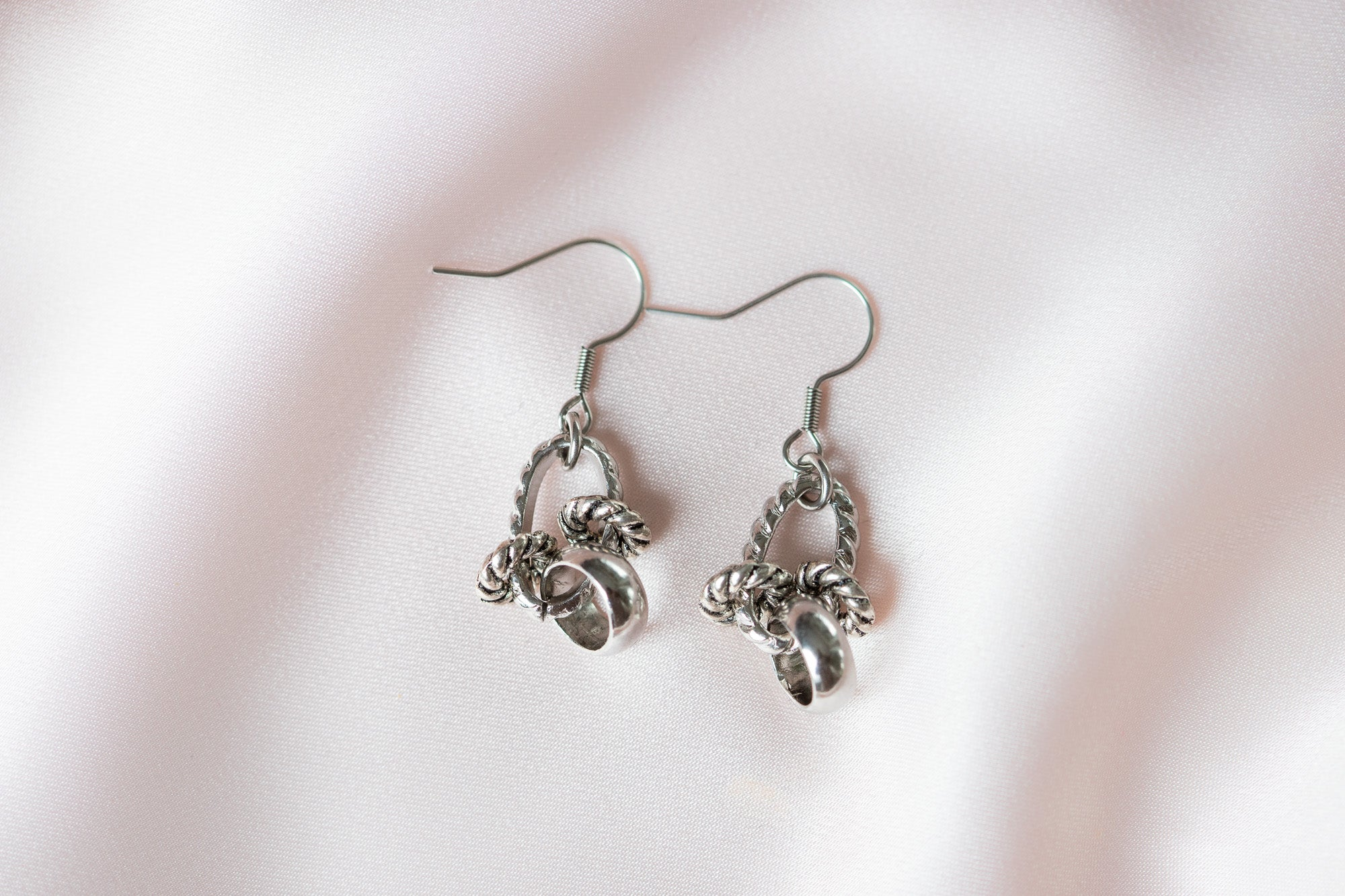 Carolily Finery earrings made from stainless steel