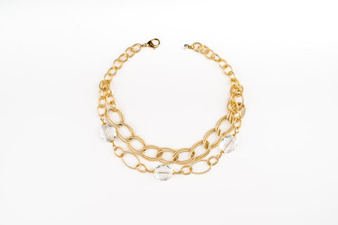 Adelia Gold Necklace