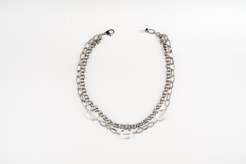 Adelia Silver Necklace