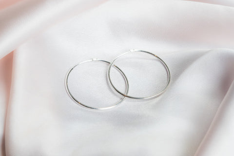 Anya Earrings- Silver