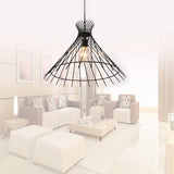 Unitary Brand Antique Black Metal Shade Pendant light with 1 light Painted Finish