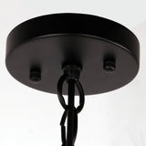 Rustic Steel Art Black Metal Shade Pendant light