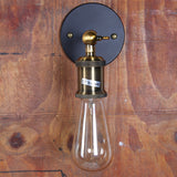 UNITARY BRAND Vintage Wall Lamp Max 60W With 1 Light Painted Finish
