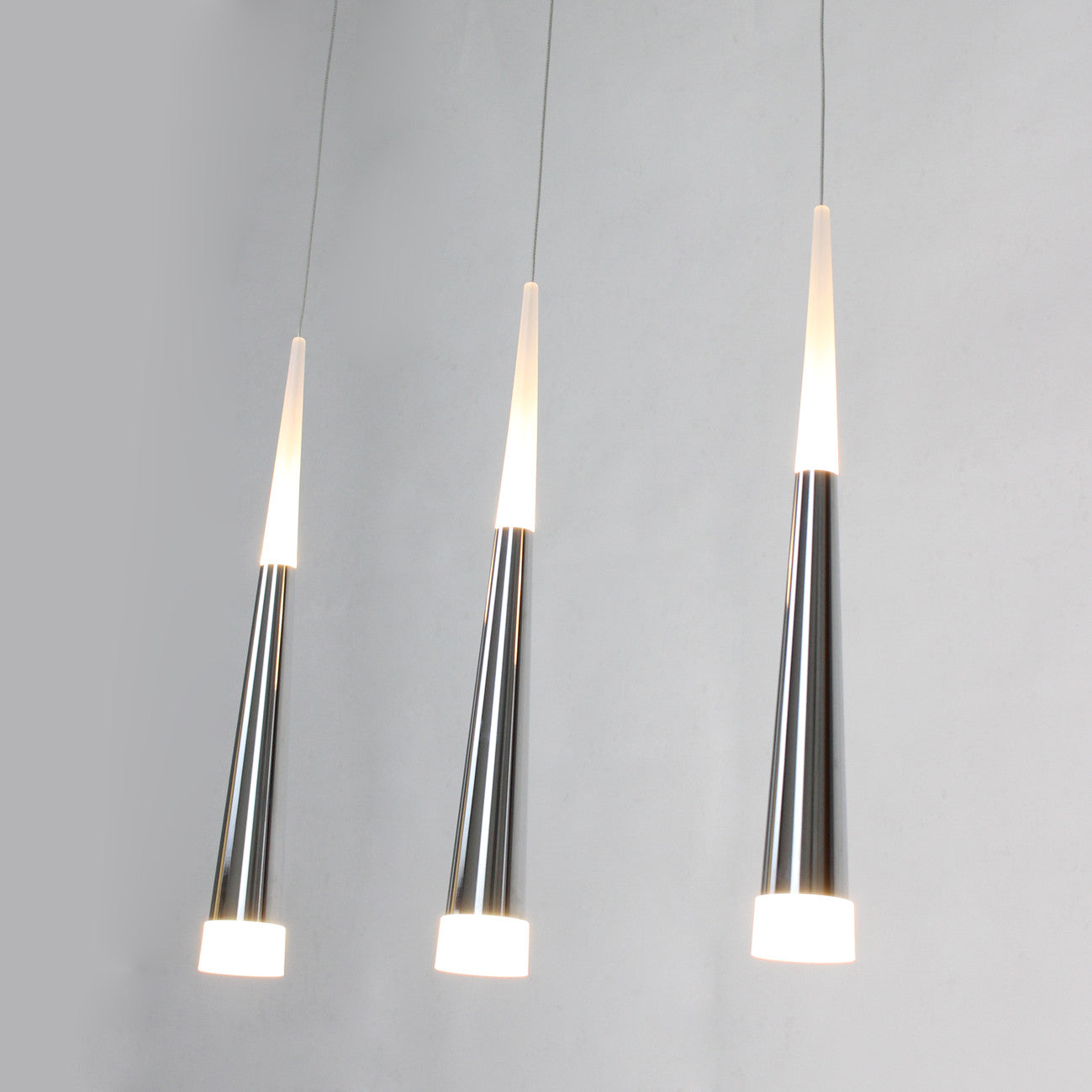 UNITARY BRAND Modern Stainless Steel LED Pendant Light Max ...