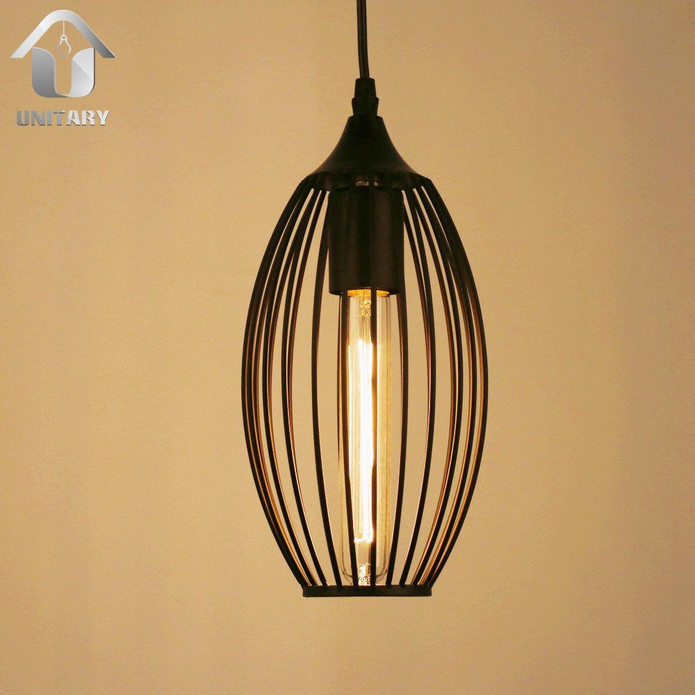 UNITARY BRAND Barn Mini Pendant Light Max 60W With 1 Light Painted Finish