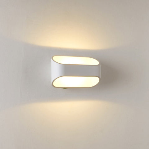 UNITARY BRAND Modern Warm White LED Acrylic Wall Lamp Max. 4W Painted Finish