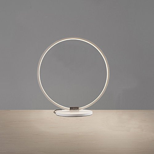UNITARY BRAND Modern LED Desk Lamp Max. 20W With 1 Ring Panited Finish