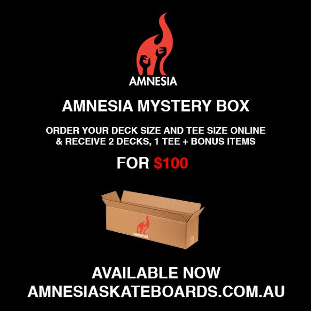 Australia Day mystery box sale on now.