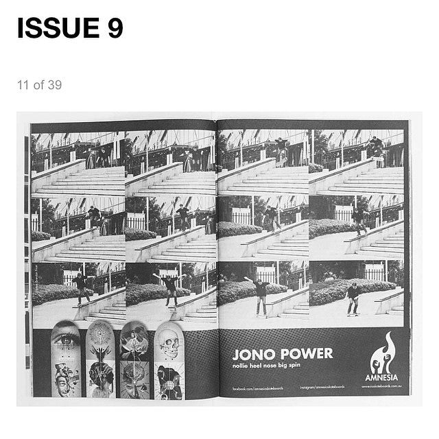 Jono in issue 9 of Fuknoath. If you didn't get a copy you can read all issues online. Lots of local brands in there, link in our profile. @_jopo