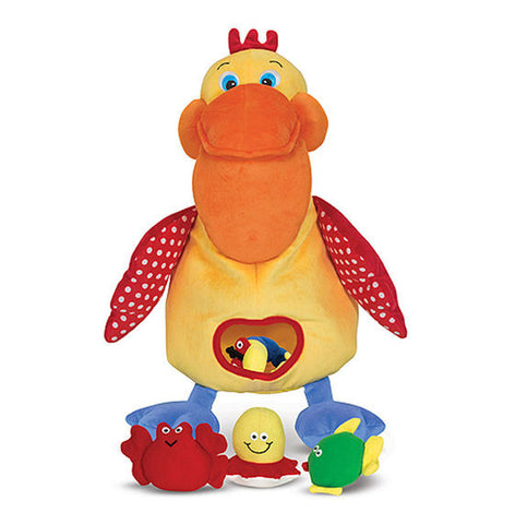 Melissa & Doug Hungry Pelican Learning Toy - Toyabella  - 1