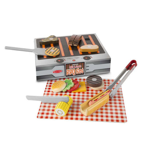 Melissa & Doug Grill & Serve BBQ Set - Toyabella  - 1