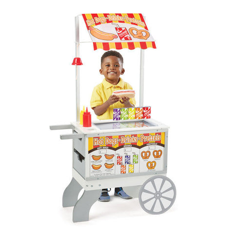 Melissa & Doug Snacks & Sweets Food Cart - Toyabella  - 1