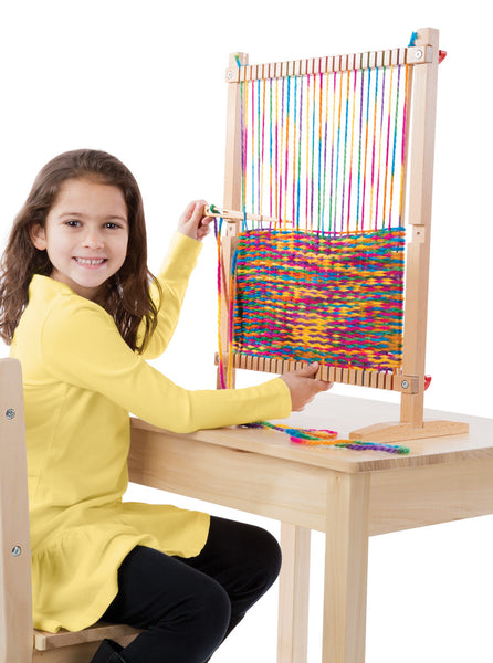 Melissa & Doug Multi-Craft Weaving Loom - Toyabella.com